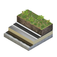 Green Roof Verdico Biodiverse Render