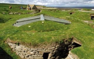 Skara Brae Roof Membrane Rhepanol hg