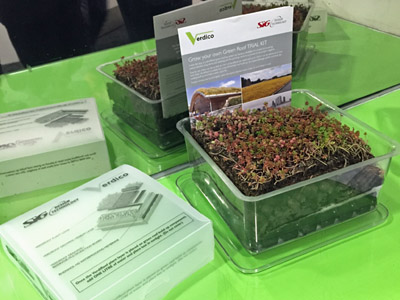 Free Green Roof Kit – a Living, Extensive Sedum Roof Sample