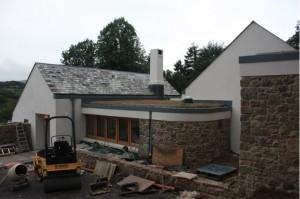 Modular Extensive Green Roof (LiveRoof) Lustleigh, Devon