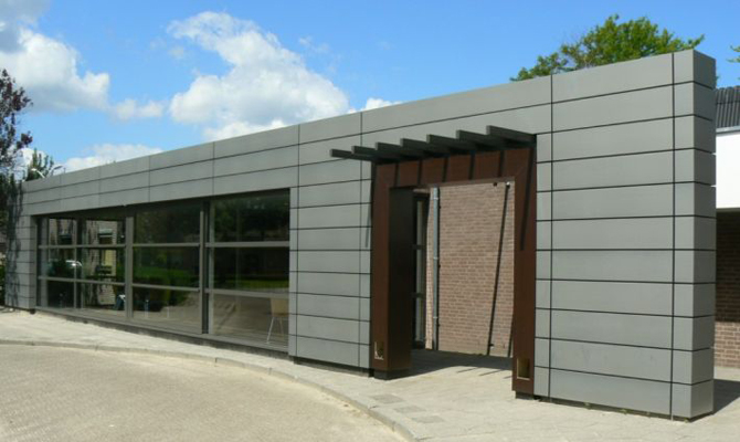 NedZink Zinc Used In Facade Cladding