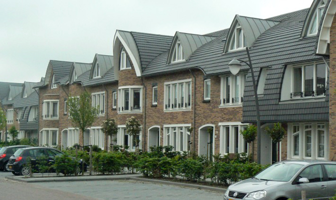 NedZink Zinc Roofing used in Housing