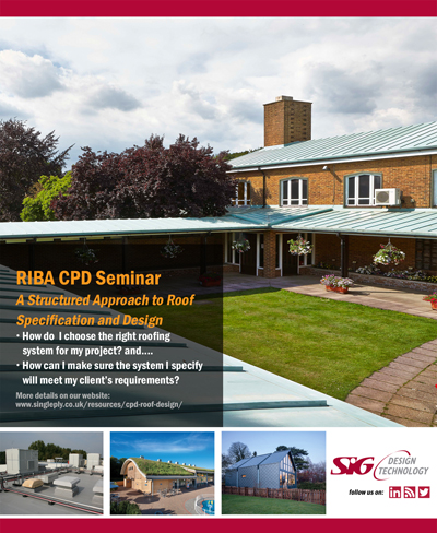 SIG Design & Technology CPD Structured Approach to Roof Design Poster August 2017 Web Version