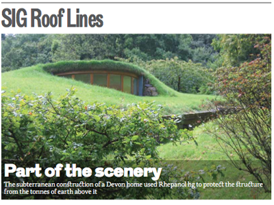 SIG Roof Lines: The RIBA Journal September 2014