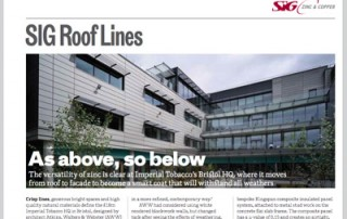 SIG Roof Lines Nov 2014 Featured image