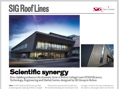 SIG Roof Lines: The RIBA Journal June 2015