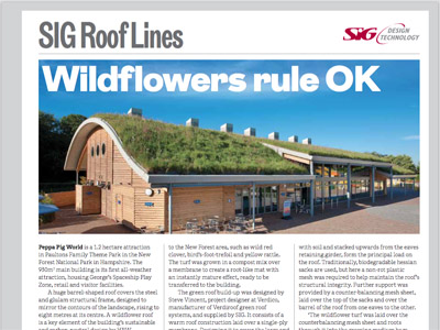 SIG Roof Lines: The RIBA Journal October 2015