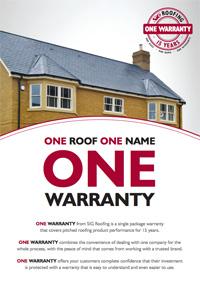 SIG ONE Warranty Flyer