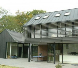 NedZinc Zinc roof example