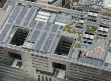 Hot Melt Roofing on 5 Broadgate by Make Architects