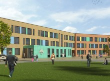 Stopsley High School CGI website case study image