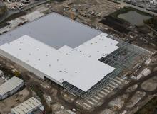 Fast Track Roofing: Ocado Fulfillment Centre Kent