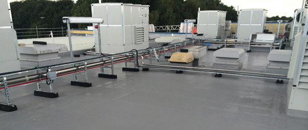 Re-Roofing a flat roof with liquid waterproofing: Vue Cinema Doncaster