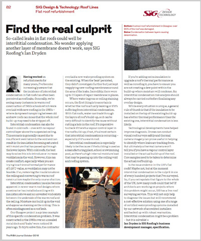 RIBA SIG Rooflines October 2016  Back Page