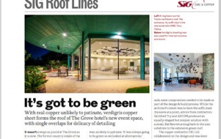 RIBA SIG Rooflines October 2016 Feature