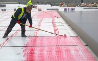 fast track roofing - Ocado Erith