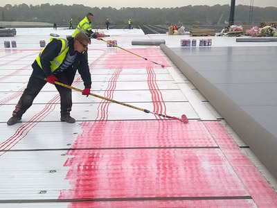 Fast Track Roofing: 48,000m2 in less than four months