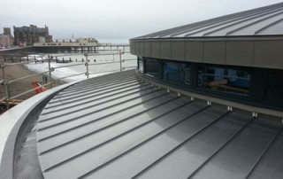 Metal Roofing on the Coast - Aberystwyth