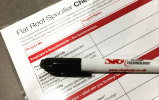 Flat Roof Checklist - Drywipe Version