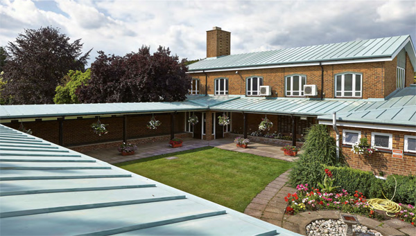Imitate previous copper roof with lower cost alternative