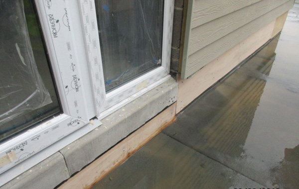 flat roof interfaces - thresholds