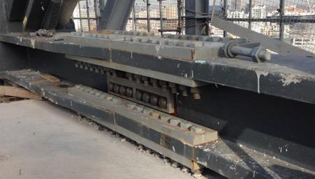 5 Broadgate spliced truss before waterproofing