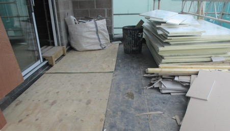 Will your flat roof be used as a working platform?