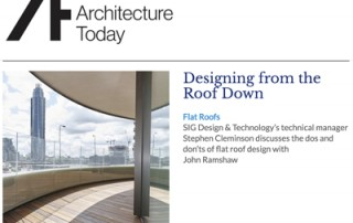 Architecture Today - SIG Design and Technology