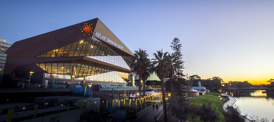 SIG Design & Technology Zinc Cladding at Adelaide Convention