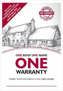 One Warranty Flier - Roof Warranties