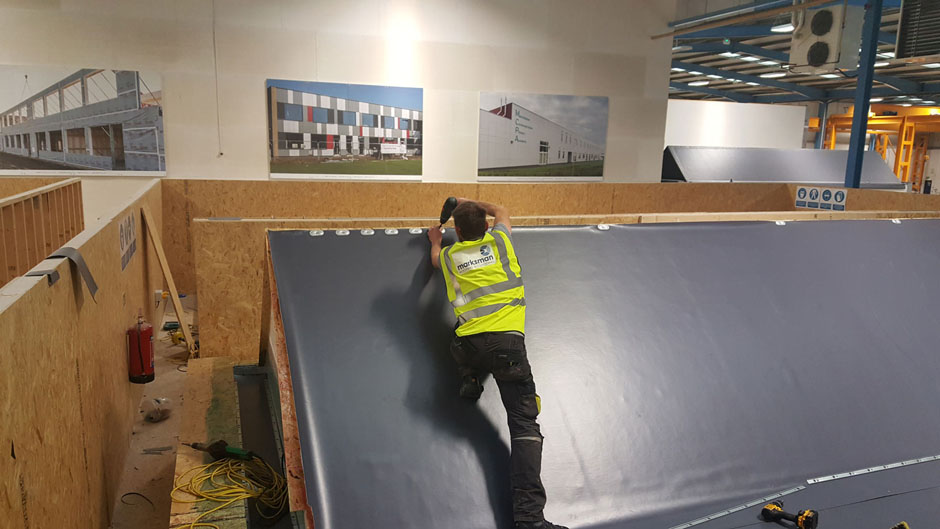 Installation of the Armourplan Membrane