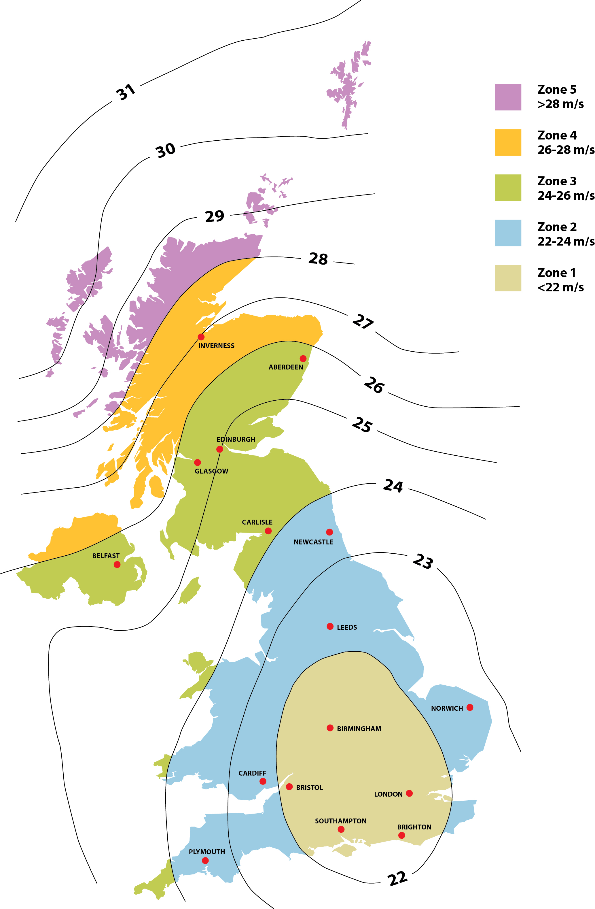 Uk Wind Map SIG Design & Technology The Effects of Wind Uplift on Roofs Uk Wind Map