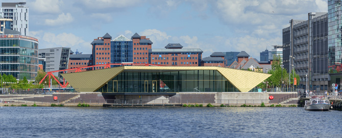 Alchemist wins Roofing Awards - view from the water