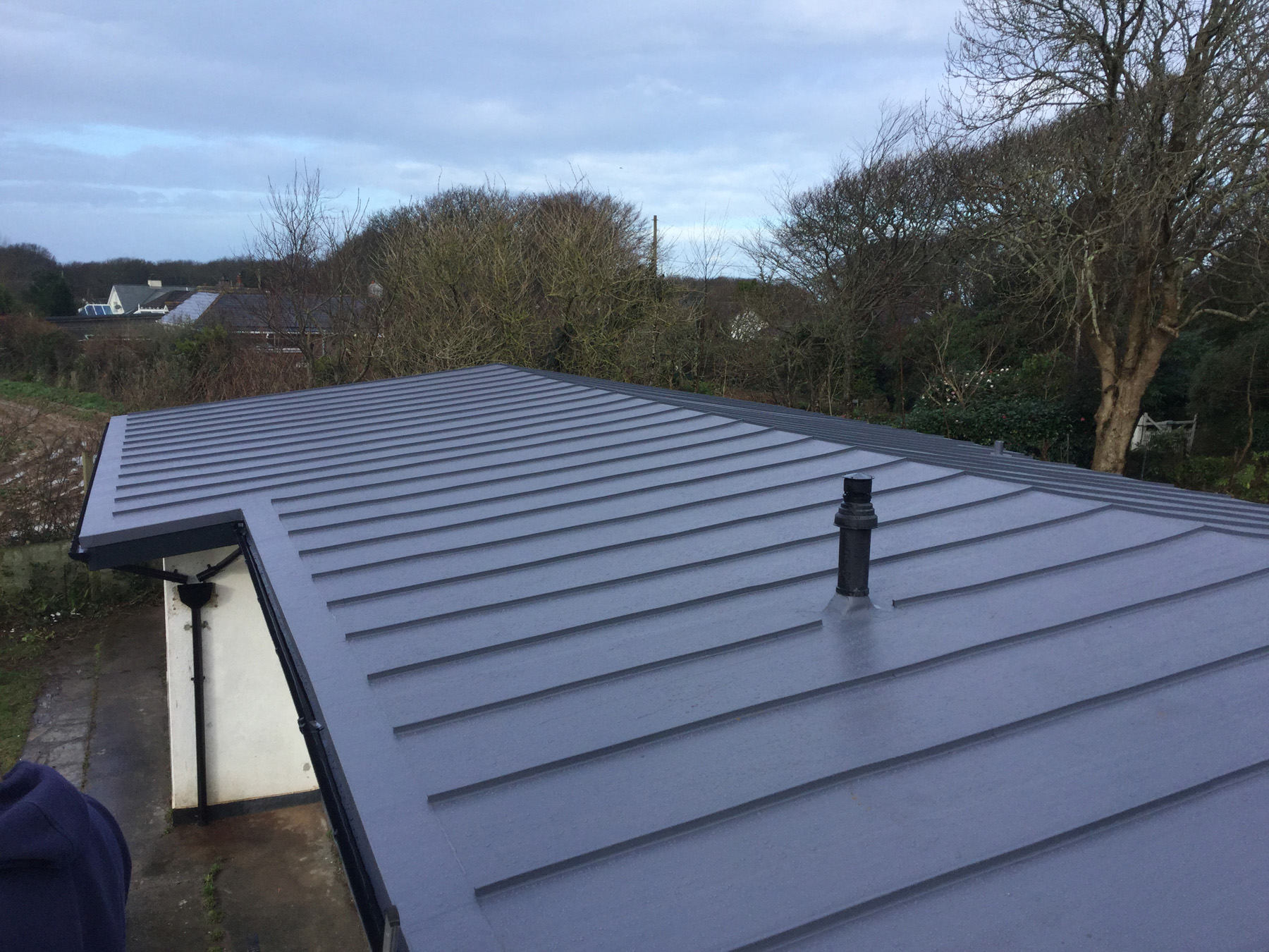 Cornwall Bungalow Roof - April Best Roofing Photo of the Month
