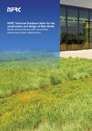 Blue Roof Best Practice - NFRC Technical Guidance