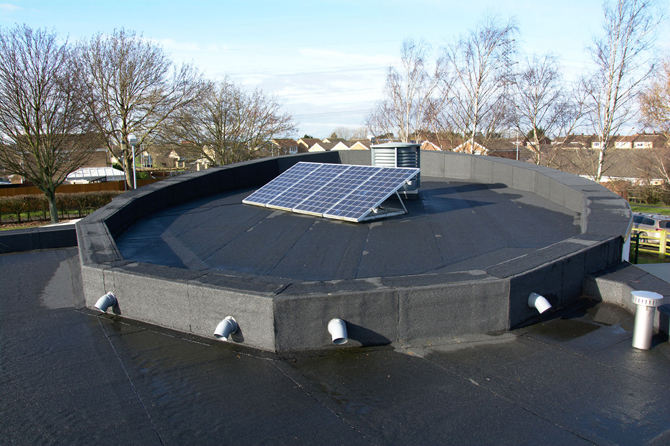 Flat Roof Drainage Best Practice Outlets