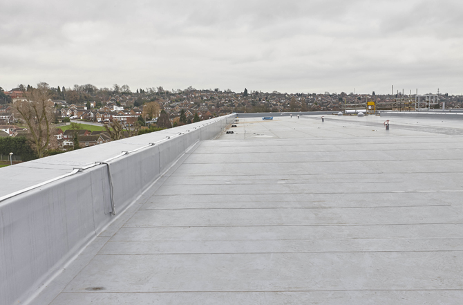 Single Ply Flat Roof Drainage Best Practice