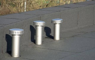 flat roof penetrations