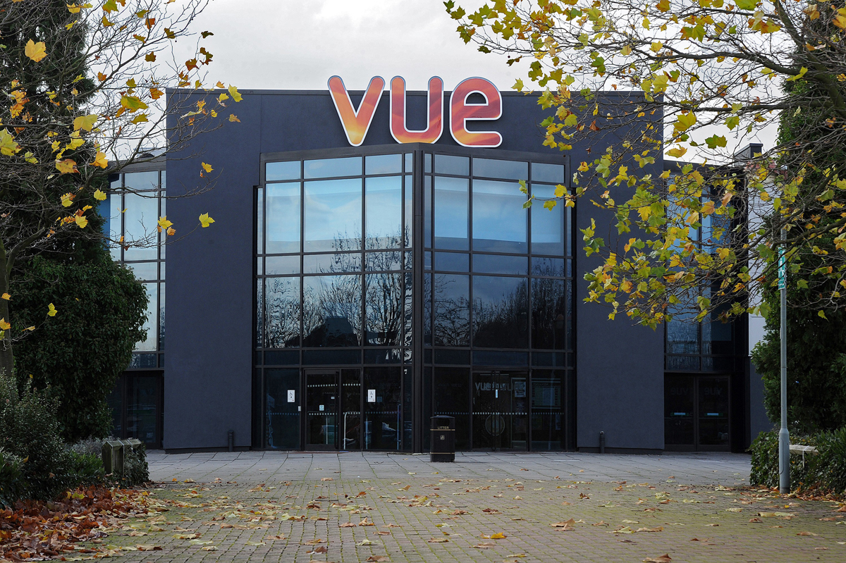 Vue Cinema, Doncaster. Liquid Roofing