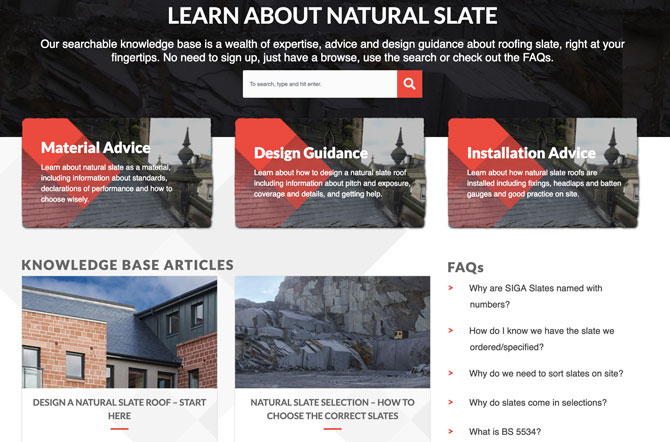 Natural Slate Knowledgebase
