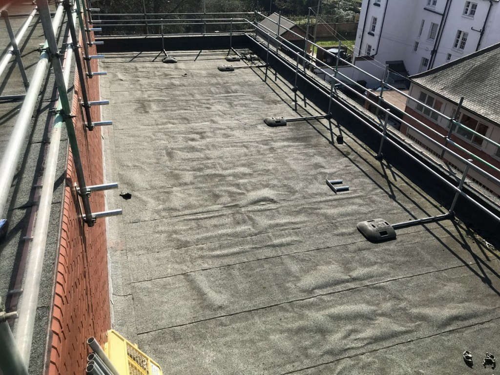 Flat Roof Survey Blisters