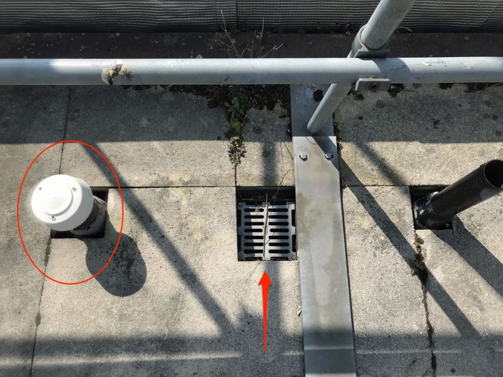 Flat Roof Survey Penetrations Outlets