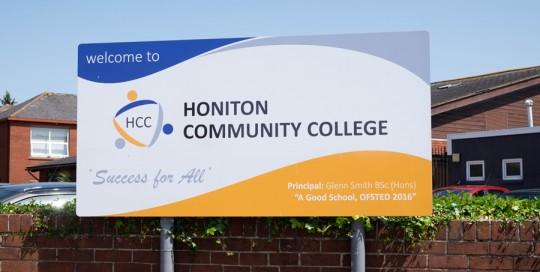 Honiton Community College Web Case Study Main Image