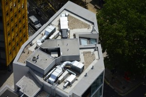 We increasingly demand more and more of our flat roofs. Centrepoint, London (ph: Terence Smith).