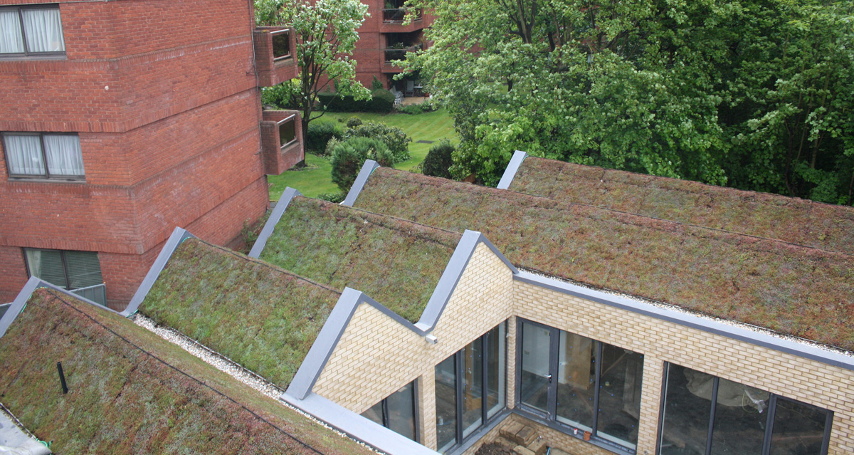 Residential Single Ply - Spencer Courtyard, Finchley, London