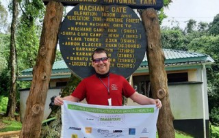 IanClimbsKMJ at Machame Gate