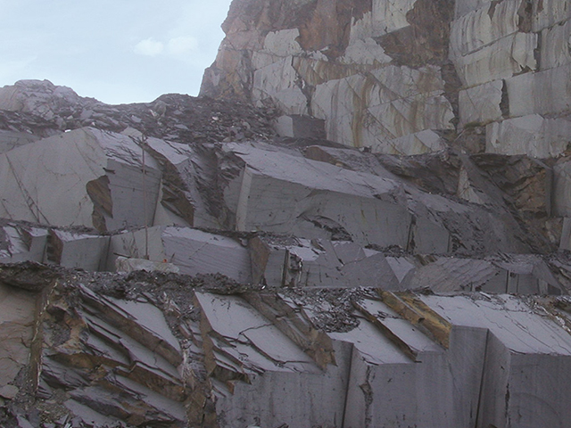 Natural Slate Roofing - the Quarry