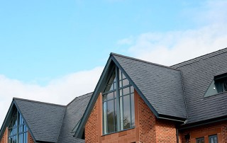 Natural Slate Roofing at St James Park Didsbury