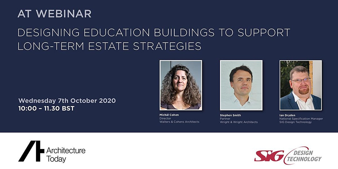 Architecture Today Education Seminar 2020 - banner