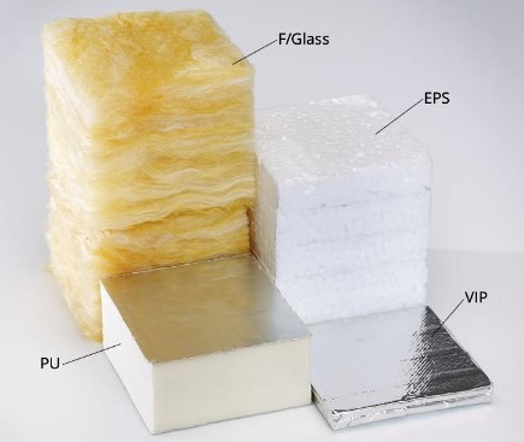 Compare Insulation Depth Fibreglass EPS PIR VIP